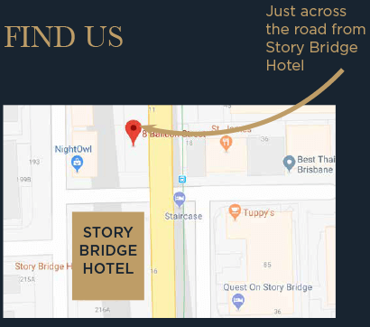 Find Us - Map