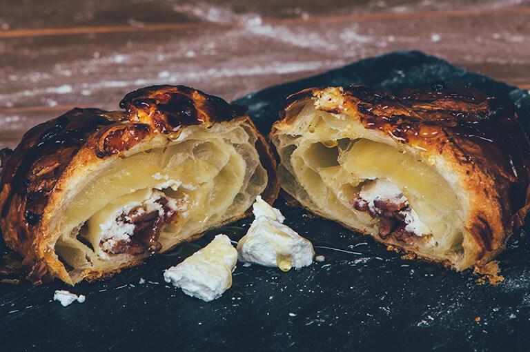 Crispy Bacon Croissant